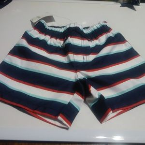 Gymboree baby boy multi colored bathing short